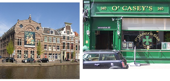 Leuk in Den Haag - zalen
