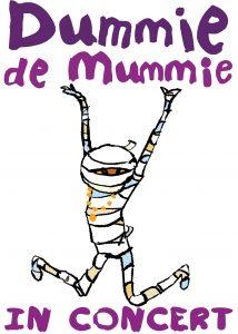 PERSFOTO Dummie de mummie in concert