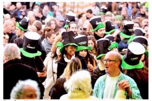 St Patricks Day grote markt
