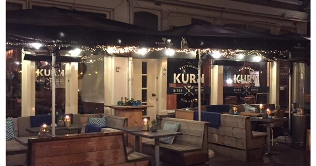 Shared dining bij restaurant Kurk