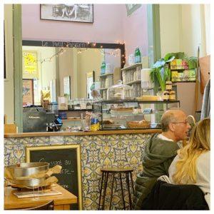 Lunch bij Le Petit café Lou