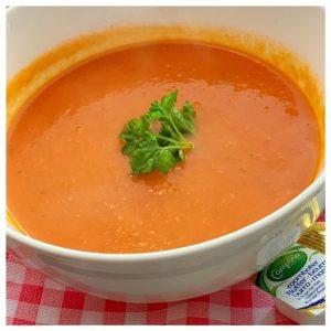 Lunch bij Le Petit café Lou soep