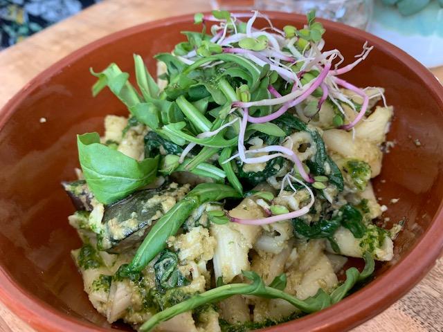 salade pasta pesto